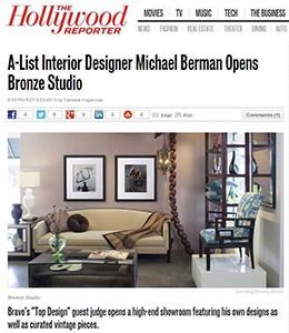 A-List Interior Designer Michael Berman Opens Bronze Studio