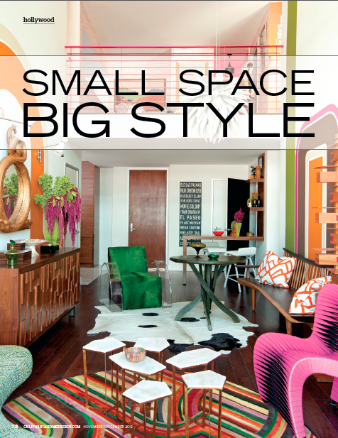 California Home + Design Nov 2012