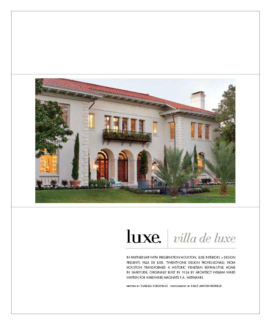 Luxe Texas Spring 2013