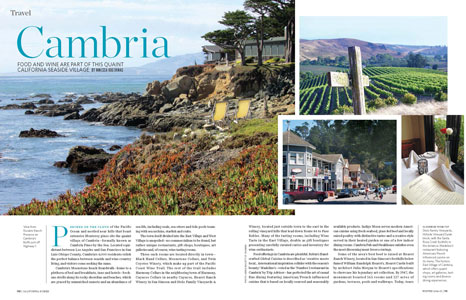 California Homes Winter 2014 | Cambria