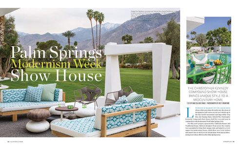 California Homes Summer 2015 | Modernism Week Show House