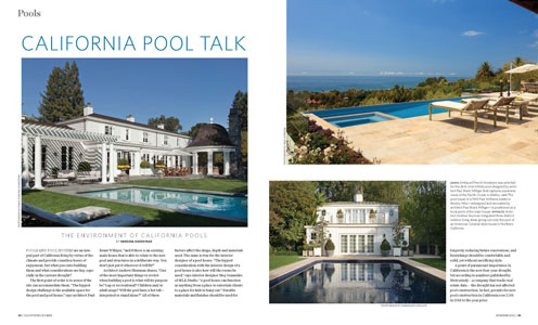 California Homes Summer 2015 | California Pool Talk