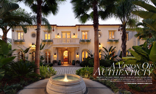 California Homes Winter 2015 | Landry Design Group Beverly Hills
