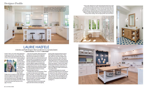 California Homes Spring 2016 | Laurie Haefele