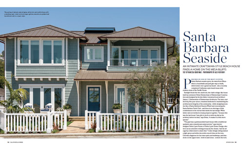 California Homes Spring 2016 | Santa Barbara Seaside