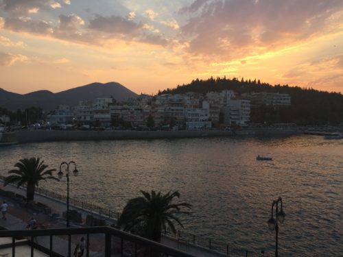 A Selfish Selfless Journey: Journaling The Night Before; Chalkida, Greece